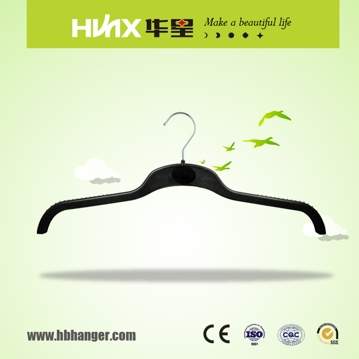 HBX538 Plastic ABS Hanger With Size Tag For Coat