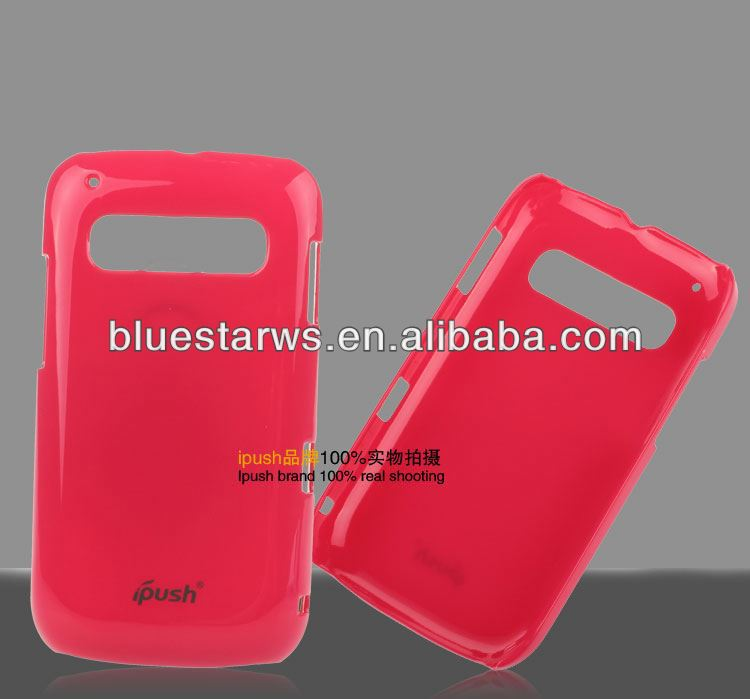 Shiny UV Coating Phone case supplier Plastic Hard Case PC For TCL A966