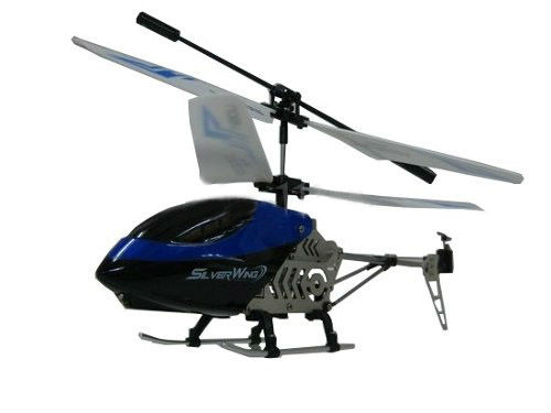 RC Helicopter Silver Wing for Mobile Phone