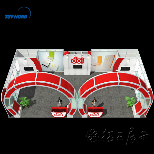 china display stand modular trade show booth backdrop stand