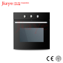 2016 hot selling 60cm home gas oven, high quality domestic rotary bread luxury gas oven JY-GB-C11