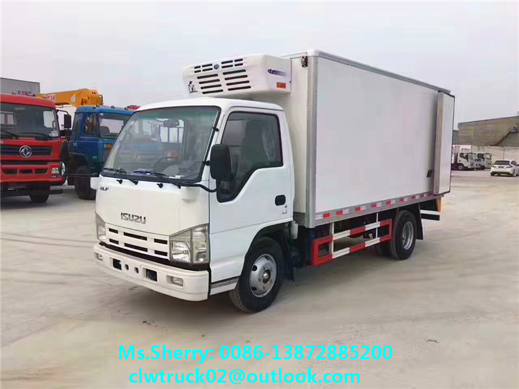 Japan Brand Engine Refrigerator Truck for export