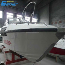 Gather China used outboard engine Ce Certificate Fiberglass Boat Cabins