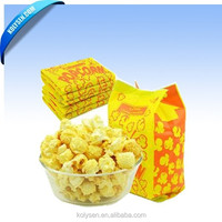 custom Kolysen Packaging Integration Co., Ltd. URL: www.kolysen.com Tel: 0086-592-8333630 Fax Greaseproof Paper Popcorn Bags