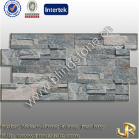 Decorative natural quartzite Z brick stone