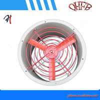wall type installation metal explosion proof axial fan