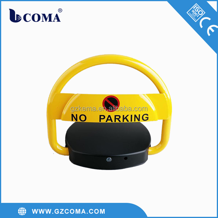 Smart parking system device remote parking lock/automatic car parking loc/Solar remote parking barrier