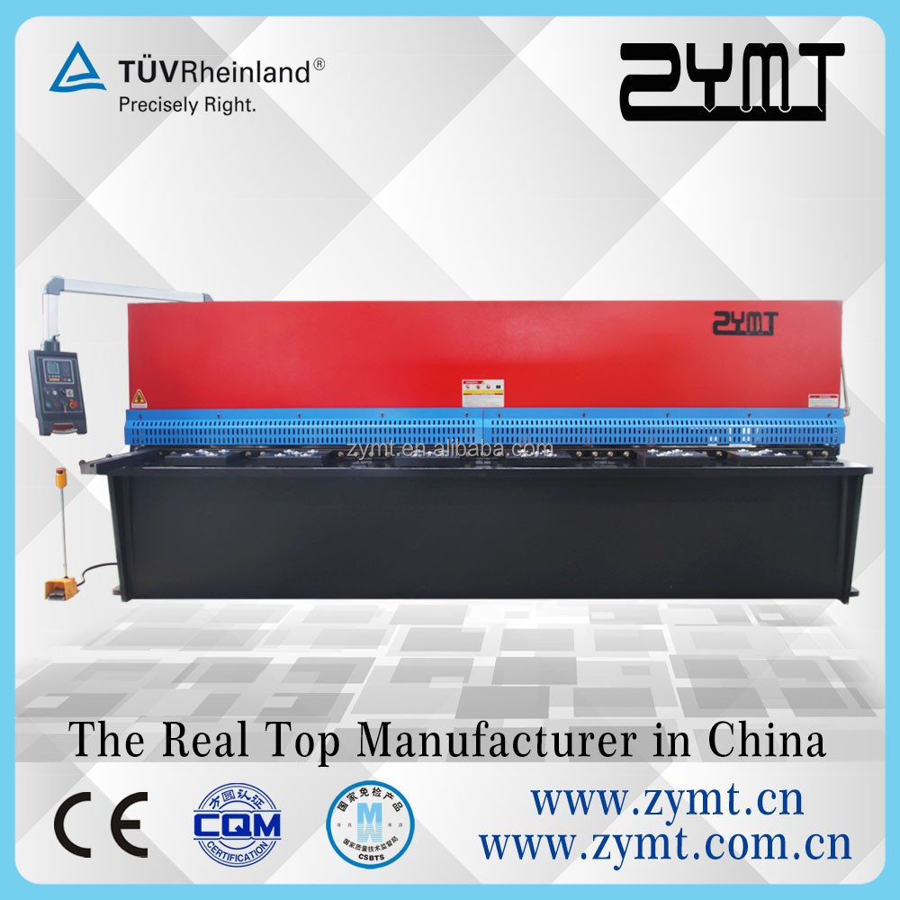 hydraulic sheet metal pipe cutting machine used for metal plate