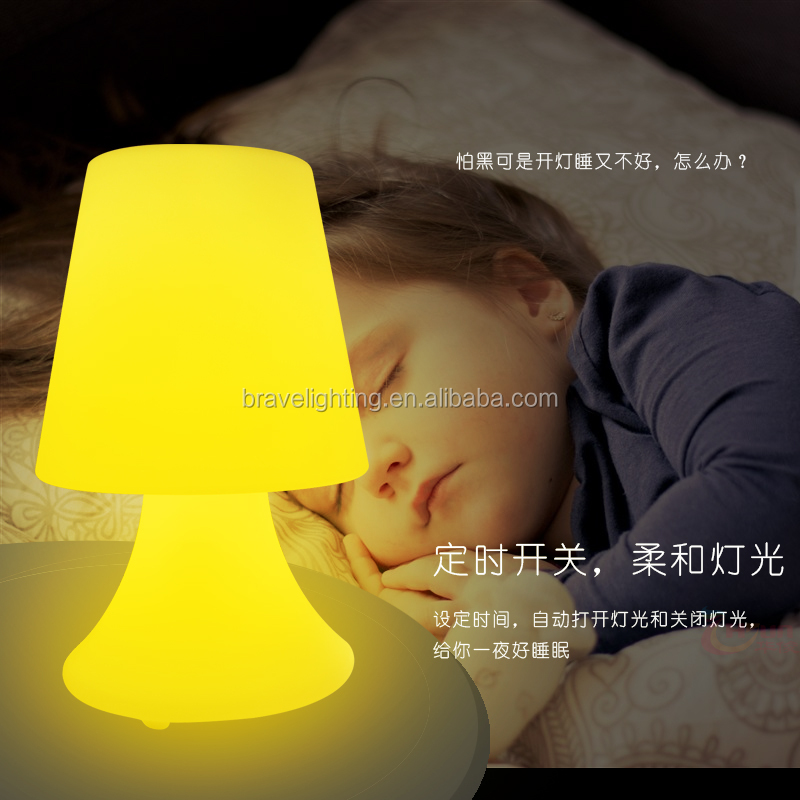 Novelty Led USB Bed Head Reading Light Portable Luminaire Table Lamp with Battery