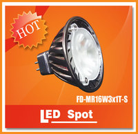 Direct-sale led spot lights from China,3W 12V working voltage