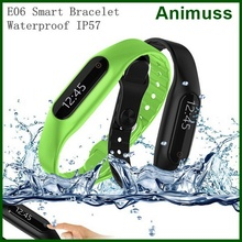 Consumer electronics fitness bluetooth smart wristband E06 fitbit flex smart bracelet watch for IOS android samsung