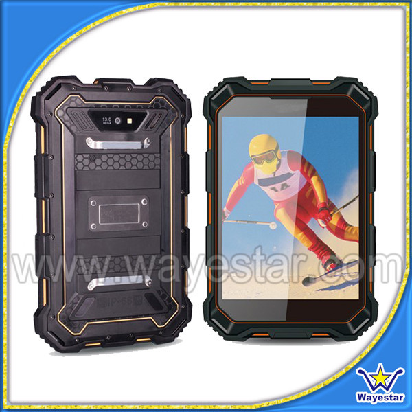 Waterproof ws933 cdma gsm 3g tablet pc two cameras 2mp+8mp in stock