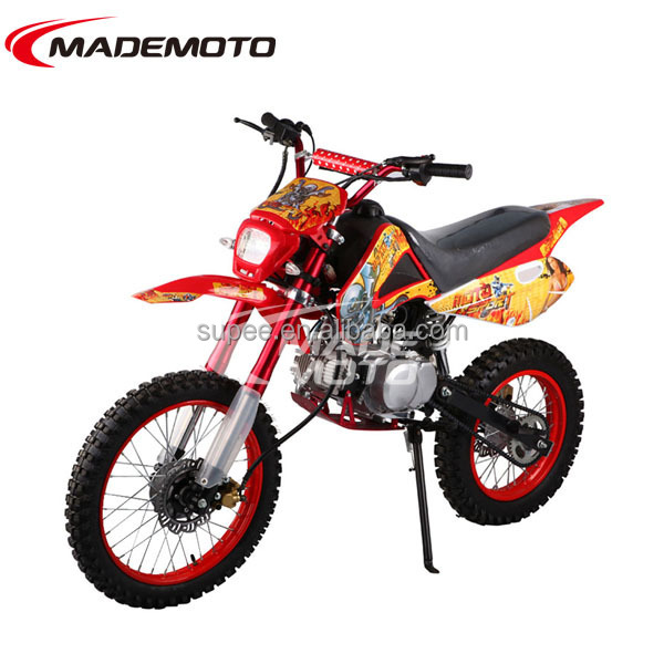 Adults Orange 110CC New Generation Dirt Bike