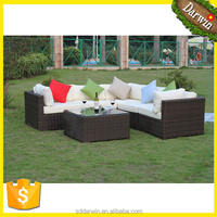 Cheap Garden Outdoor Plastic Rattan Sofa Furntiure Set
