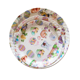 Round cheap custom printing white plates,dinner plates wholesale