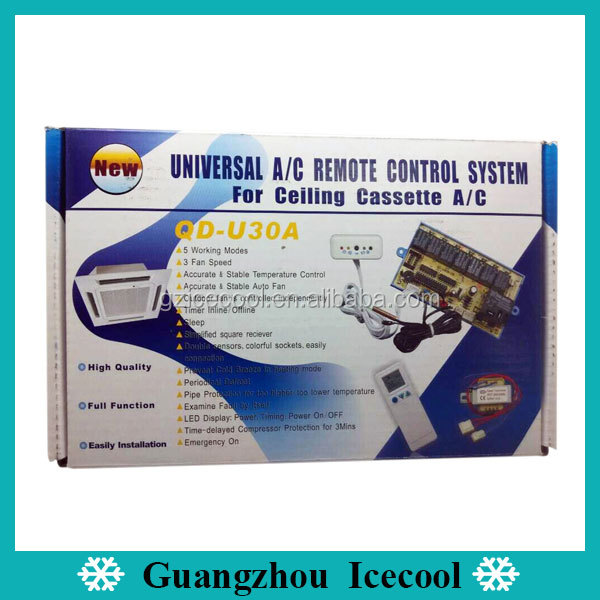 QD-U30A universal Air Conditioner Control System for ceiling and Cassette