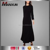 Designer Burqa Model Baju Kurung Modern Muslim Women Dress Black Abaya 2016