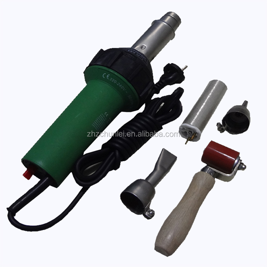 Handheld Hot Air Welding Gun with Nozzle
