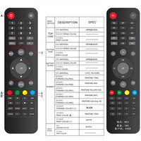2016 top quality ott ir remote control android tv box