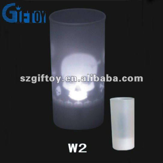 Halloween gifts projection light candle