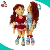 2015 kids newest plush soft handmade cloth doll for sale