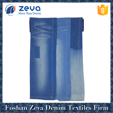 2018 hot sale Indigo color woven 100% cotton jeans premium denim fabric