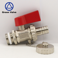 Green-GutenTop 1/2'' Brass Boiler Feed and Drain Cock Ball valves For Europe Market