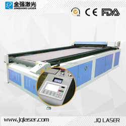 High performance automatic textile laser cutting machine