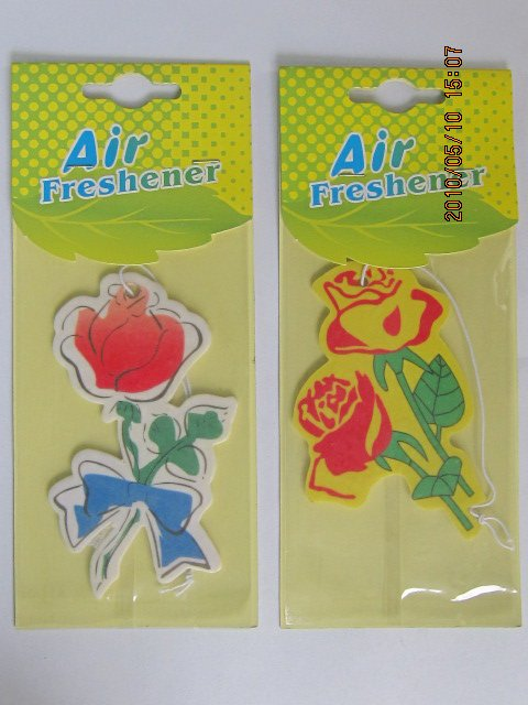 Custom Car vent air freshener, glade car freshener, car Paper Air Freshener for promotion(ecofriendly)
