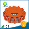 traffic warning light type rotating led road warning flare