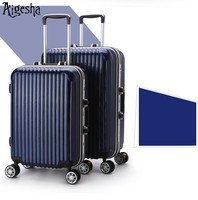 Hard ABS PC luxury trolley luggage case for business