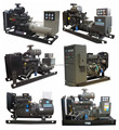 24 work hours turbo generator sets ISO 9001 With ATS