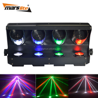 4*10W RGBW single color LED DMX dj lighting scanner for disco party