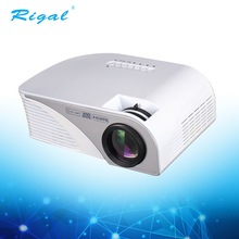 Mini portable led home theater video beamer projector