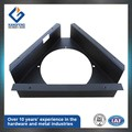 black sheet metal bracket