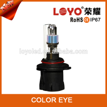 Factory direct sell HID xenon lamp 12V DC blue yellow pink with two color for your choice 9005 color eye