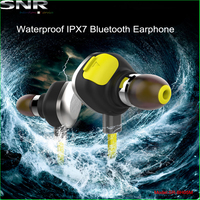 real capacity cheap waterproof headphone beautiful stylish mini wireless bluetooth headphone for unwater sports