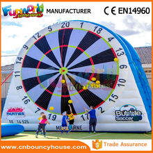 Giant soccer inflatable dart board inflatable foot darts for sale