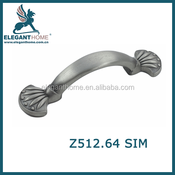 metal filling cabinet handle zinc alloy furniture pull handle
