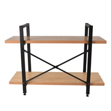 Custom 3 tier wood display stand storage shoe moveable book house display rack wood&amp;metal display <strong>shelves</strong>