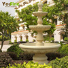 Three Tiers Large Outddor Granite Garden Water Fountain
