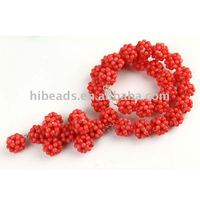 New coral necklace artificial jewelry CRB0027