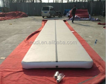 Best selling inflatable gym track for sale/High quality inflatable tumble track on sale