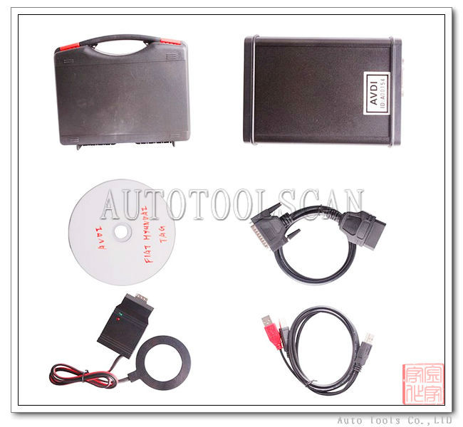FVDI for Fiat Abrites Commander For Fiat Alfa Lancia AVDI ADT178