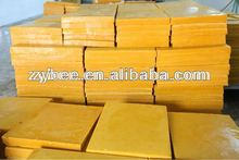pure beeswax for beeswax comb foundation producing