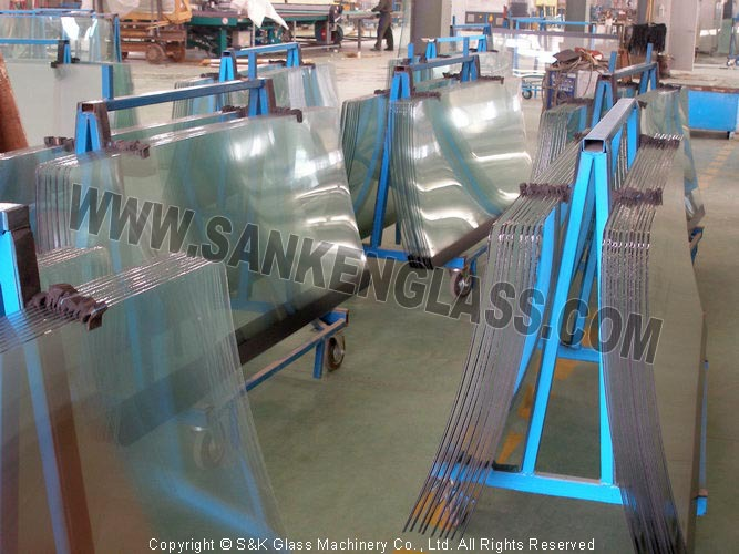 Front Laminated Windshield Auto Glass Line