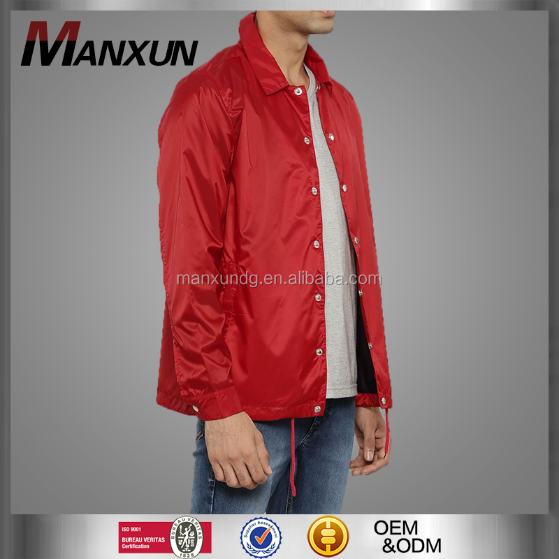 OEM Factory Customized Motorcycle Jacket Mens Windbreaker Jacket Racing Red Jacket For Man