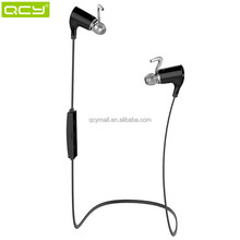 Wireless CVC6.0 noise canceling headsets bluetooth stereo sport earphone headset headphon QY5 QCY
