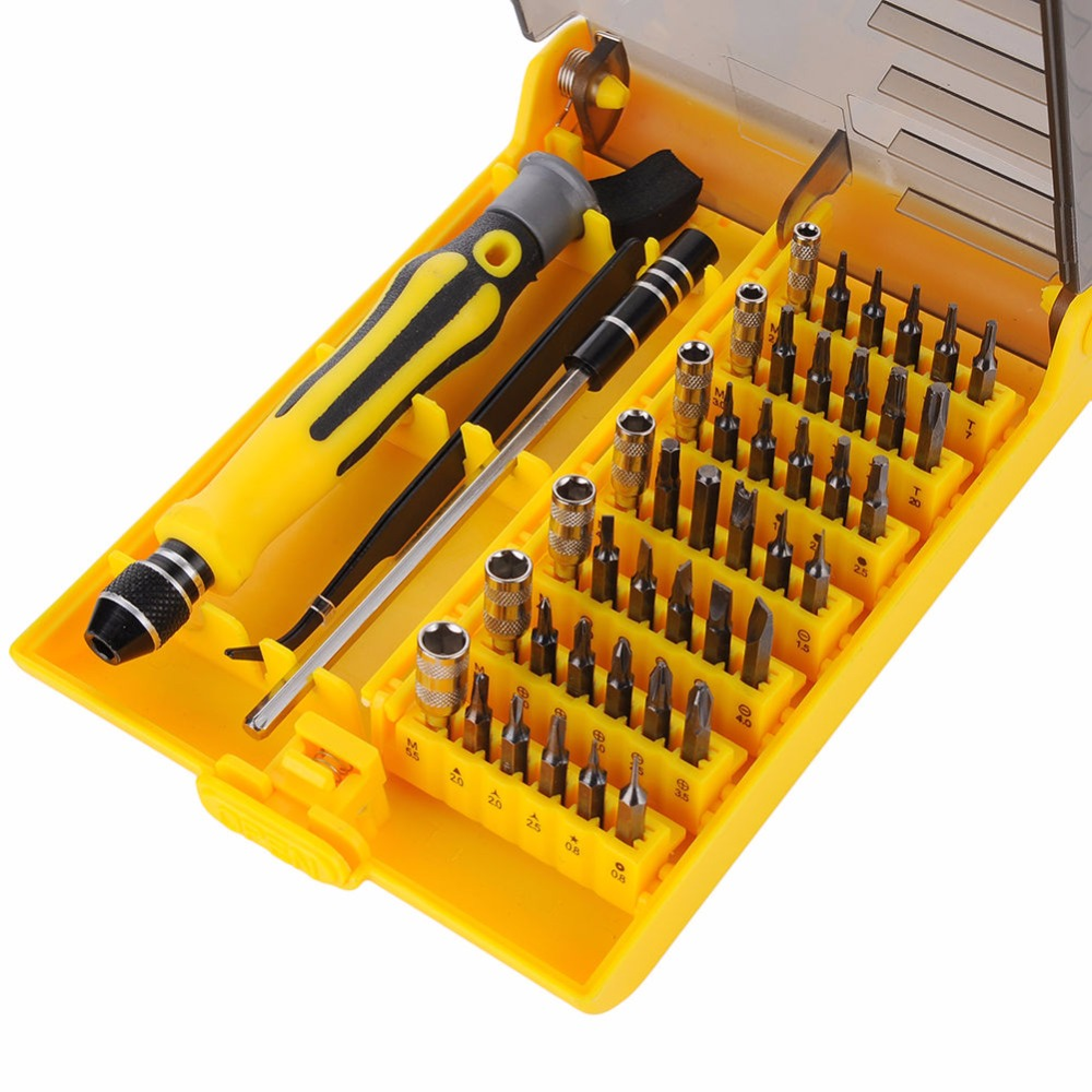 45 in 1 Multi-Bit Tools Repair Torx Screw Driver Screwdrivers Kit PC Phone