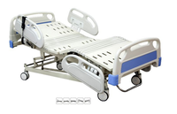 Electric Luxurious Medical Equipment Electric Nursing Home Bed with Three Functions